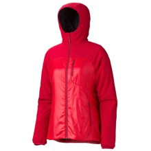 Marmot Isotherm Polartec® Hooded Jacket - Insulated (For Women) in Team Red - Closeouts