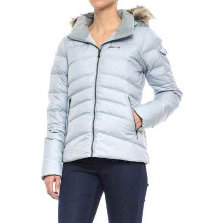 Marmot Ithaca Down Jacket - 700 Fill Power (For Women) in Silver - Closeouts