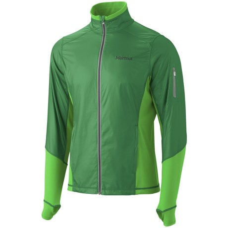 Marmot Jacket -Long Sleeve (For Men) in Dark Fern/Bright Grass
