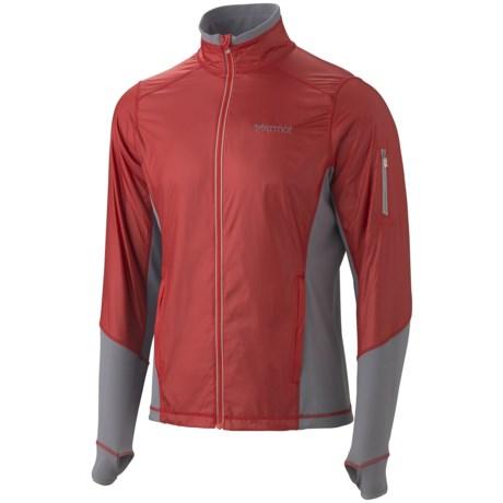 Marmot Jacket -Long Sleeve (For Men) in Rocket Red/Gargoyle