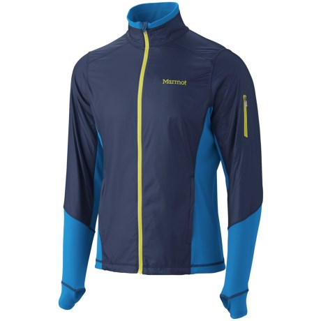 Marmot Jacket -Long Sleeve (For Men) in Royal Navy/Cobalt Blue