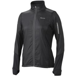 Marmot Jacket- Long Sleeve (For Women) in New Black