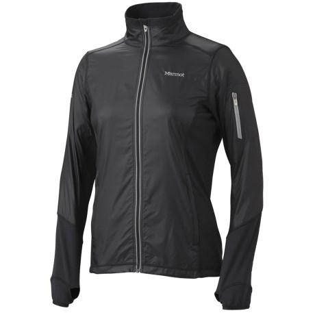 Marmot Jacket- Long Sleeve (For Women) in New Black