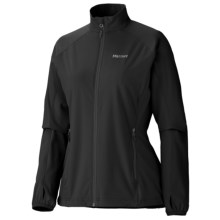 Marmot Jacket- Long Sleeve (For Women) in New Black - Closeouts