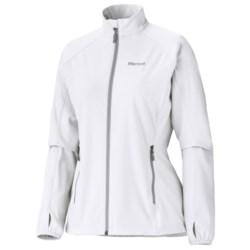 Marmot Jacket- Long Sleeve (For Women) in New White