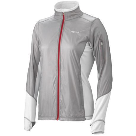 Marmot Jacket- Long Sleeve (For Women) in New White