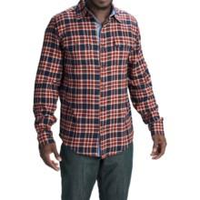 Marmot Jasper Flannel Shirt - UPF 50+, Long Sleeve (For Men) in Dark Indigo - Closeouts