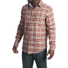 Marmot Jasper Flannel Shirt - UPF 50+, Long Sleeve (For Men) in Desert Khaki - Closeouts