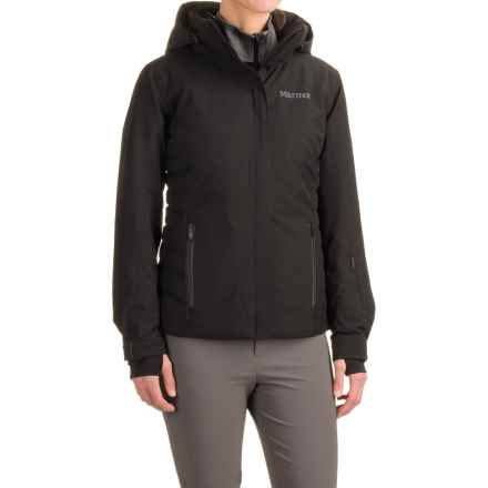 Marmot Jasper PrimaLoft® Jacket - Waterproof, Insulated (For Women) in Black - Closeouts