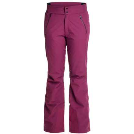 Marmot Jasper Ski Pants - Waterproof, Insulated (For Women) in Magenta - Closeouts