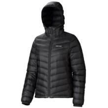 Marmot Jena Down Hooded Jacket - 700 Fill Power (For Women) in Black - Closeouts