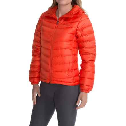 Marmot Jena Down Hooded Jacket - 700 Fill Power (For Women) in Coral Sunset - Closeouts