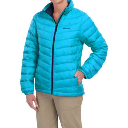 Marmot Jena Down Jacket - 700 Fill Power (For Women) in Blue Sea - Closeouts