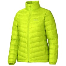 Marmot Jena Down Jacket - 800 Fill Power (For Women) in Green Lime - Closeouts