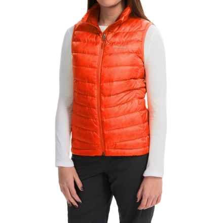 Marmot Jena Down Vest - 700 Fill Power (For Women) in Coral Sunset - Closeouts