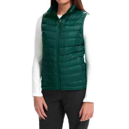Marmot Jena Down Vest - 700 Fill Power (For Women) in Deep Teal - Closeouts