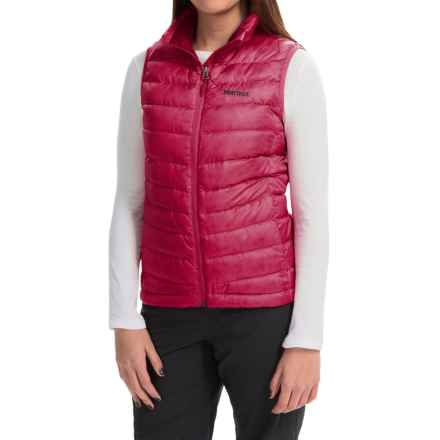 Marmot Jena Down Vest - 700 Fill Power (For Women) in Persian Red - Closeouts
