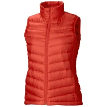 Marmot Jena Down Vest - 800 Fill Power (For Women) in Cherry Tomato - Closeouts