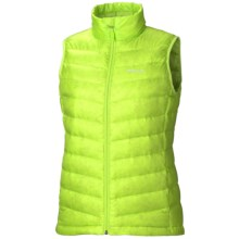 Marmot Jena Down Vest - 800 Fill Power (For Women) in Green Lime - Closeouts