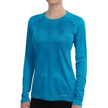 Marmot Jennifer Shirt - UPF 50, Long Sleeve (For Women) in Atomic Blue - Closeouts