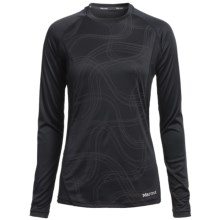Marmot Jennifer Shirt - UPF 50, Long Sleeve (For Women) in Black Air - Closeouts