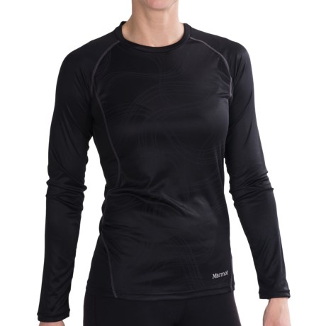Marmot Jennifer Shirt - UPF 50, Long Sleeve (For Women) in Black Gradient