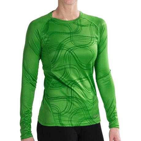 Marmot Jennifer Shirt - UPF 50, Long Sleeve (For Women) in Bright Grass Gradient
