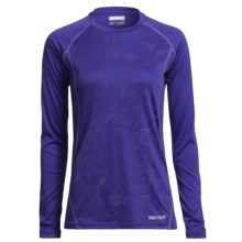 Marmot Jennifer Shirt - UPF 50, Long Sleeve (For Women) in Valor Purple Air - Closeouts