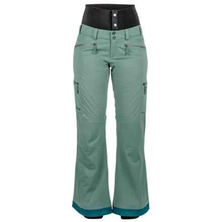 Marmot Jezebel MemBrain® Ski Pants - Waterproof, Insulated (For Women) in Urban Army - Closeouts