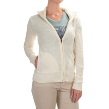 Marmot Jillian Sweater - Full Zip, Long Sleeve (For Women) in Turtle Dove Heather - Closeouts