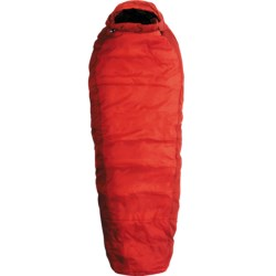 Marmot Jr. 20°F Sorcerer Jr. Sleeping Bag - Synthetic, Mummy (For Kids) in Real Red/Fire