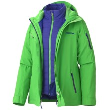 Marmot Julia Component Jacket - Waterproof, Insulated, 3-in-1 (For Women) in Bright Grass - Closeouts