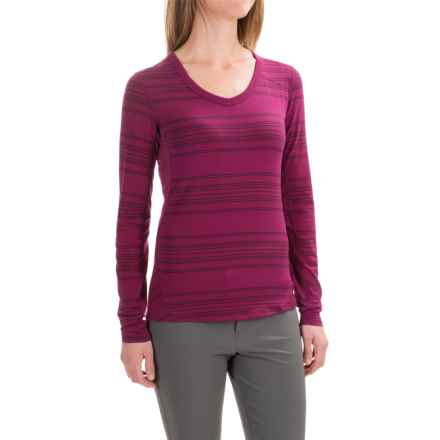Marmot Julia Shirt - UPF 30, Long Sleeve (For Women) in Magenta - Closeouts