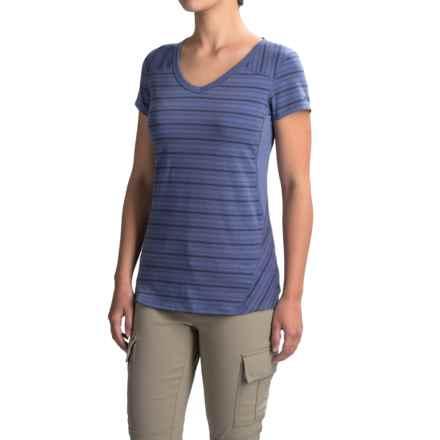 Marmot Julia Shirt - UPF 30, Short Sleeve (For Women) in Dusty Denim - Closeouts