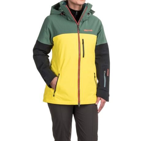 Marmot Jumpturn Gore-Tex® Jacket - Waterproof (For Women) in Urban Army/Black