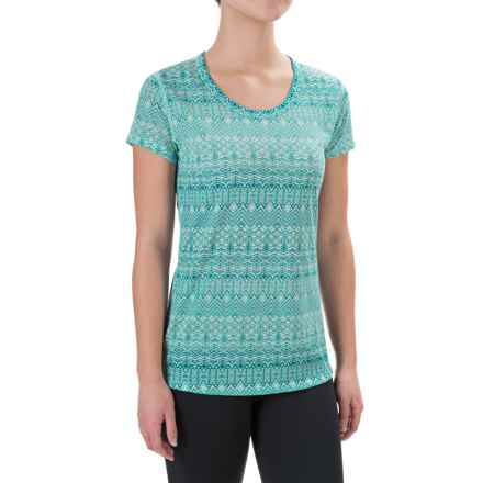 Marmot Katie Shirt - Dri-Release®, UPF 30, Short Sleeve (For Women) in Blue Tint - Closeouts