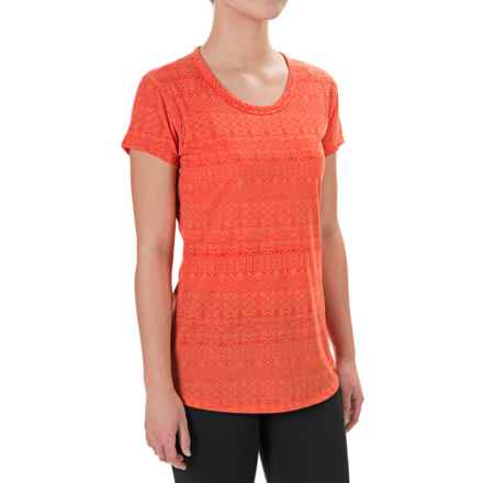 Marmot Katie Shirt - Dri-Release®, UPF 30, Short Sleeve (For Women) in Emberglow - Closeouts
