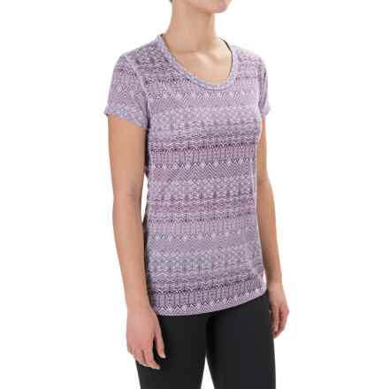Marmot Katie Shirt - Dri-Release®, UPF 30, Short Sleeve (For Women) in Lavendar Haze - Closeouts
