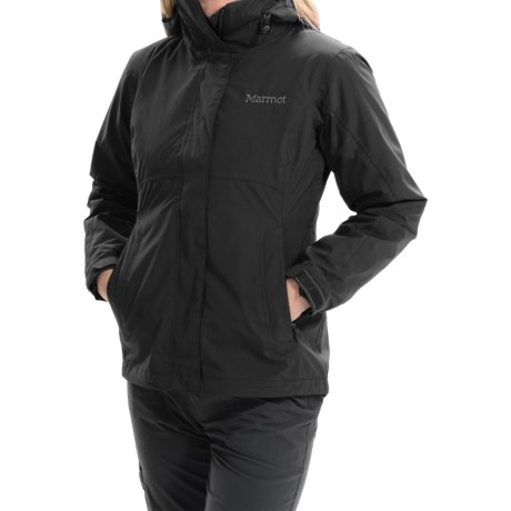 Marmot Katrina Component Jacket - Waterproof, 3-in-1 (For Women) in Black