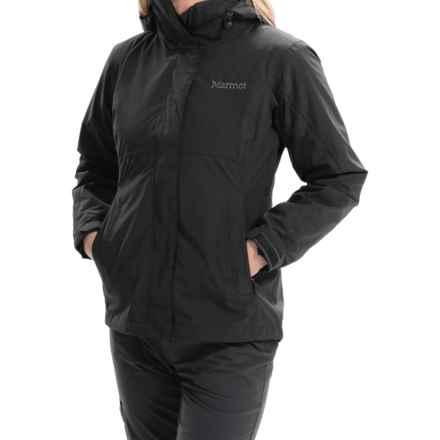 Marmot Katrina Component Jacket - Waterproof, 3-in-1 (For Women) in Black - Closeouts