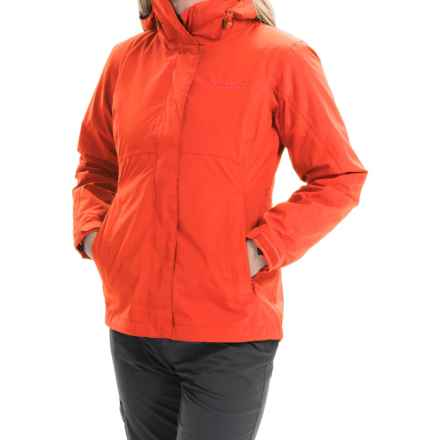 Marmot Katrina Component Jacket - Waterproof, 3-in-1 (For Women) in Coral Sunset - Closeouts