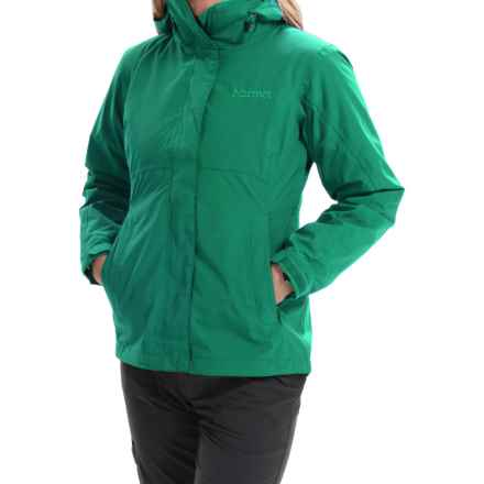 Marmot Katrina Component Jacket - Waterproof, 3-in-1 (For Women) in Green Garnet - Closeouts