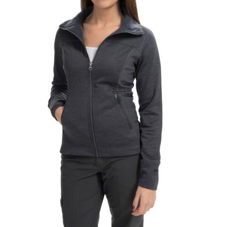 Marmot Kenzie Fleece Jacket (For Women) in Black
