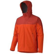 Marmot Kirwin Jacket - Waterproof (For Men) in Orange Haze/Dark Rust - Closeouts