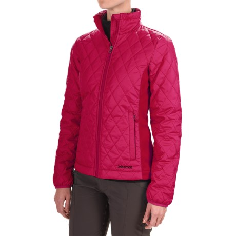 Marmot Kitzbuhel Jacket - Insulated (For Women) in Persian Red