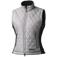 Marmot Kitzbuhel Vest - Insulated (For Women) in Platinum - Closeouts