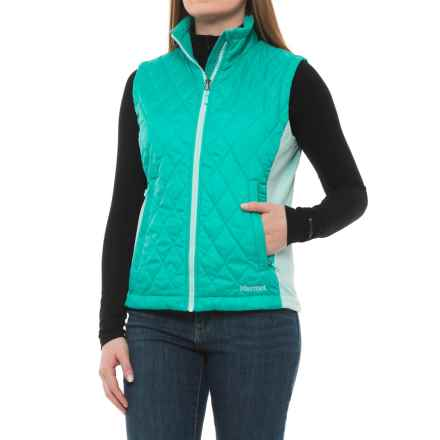 Marmot Kitzbuhel Vest - Insulated (For Women) in Waterfall./Blue Tint - Closeouts