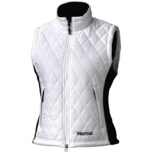 Marmot Kitzbuhel Vest - Insulated (For Women) in White - Closeouts