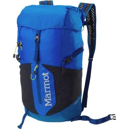 94b1e7715f7 Marmot Kompressor Plus 20L Backpack in Peak Blue/Dark Sapphire - Closeouts