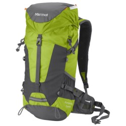 Marmot Kompressor Summit Backpack - 28L in Green Lime
